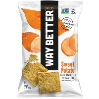 Print a coupon for $1 off any Way Better Snacks 5.5oz. bag