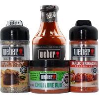 Save $0.55 on any Weber BBQ Sauce, Seasoning or Rub