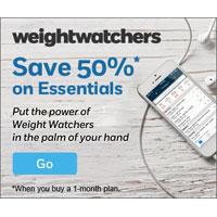 Save 50% on Weight Watchers Essentials when you buy a 1-month plan. Sign up now!