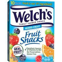 Print a coupon for $1 off two Welch's Fruit Rolls, Fruit Snacks or Fruit 'n Yogurt Snacks