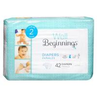 Print a coupon for $2 off one package of Well Beginnings Protection Diapers