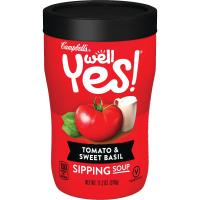 Print a coupon for $0.75 off a can of Campbell's Well Yes! Soup