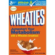 Save $0.75 on a box of Wheaties cereal