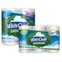 Print a coupon for $1.50 off White Cloud Toilet Paper or Paper Towels
