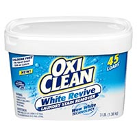 Print a coupon for $1 off one OxiClean White Revive Laundry Whitener + Stain Remover