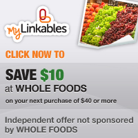 Whole Foods coupon - Click here to redeem