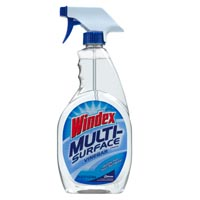 Print a coupon for $0.75 off any Windex Multi-Surface product