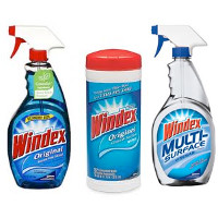 Print a coupon for $0.75 off one Windex product