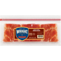 Save $1.50 on any package of Wright Brand Bacon