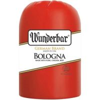 Print a coupon for $1 off one pound of Wunderbar Bologna at the service deli counter