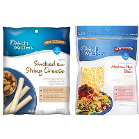 Print a coupon for $1.50 off two Weight Watchers Cheese products