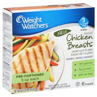 Print a coupon for $1 off any Weight Watchers Chicken Breasts, Tenders, or Burgers