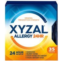 Print a coupon for $2 off one XYZAL Allergy 24HR, 10ct. or higher or one XYZAL Children's Liquid