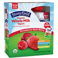 Print a coupon $2.50 off any two Stonyfield YoKids Squeezers