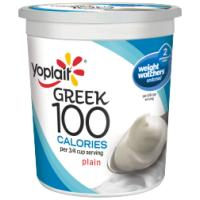 Save $0.50 on a 32 ounce container of Yoplait Greek 100 Yogurt
