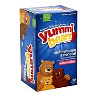Save $1 on any Yummi Bears Gummy Vitamin product - Plus boost your coupon for additional savings