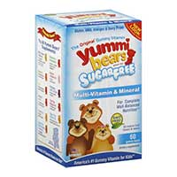 Save $2 on any Yummi Bears Sugar Free Gummy Vitamin product