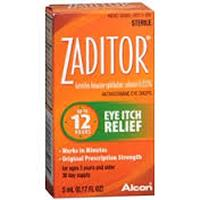 Save $3 on Zaditor Eye Drops