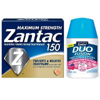 Print a coupon for $5 off one Zantac OR Duo Fusion product