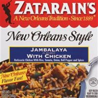 Print a coupon for $0.50 off two Zatarain's Rice or Pasta Dinner Mixes