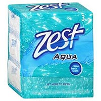 Print a coupon for $0.50 off one pack of Zest Soap, 3-bars or larger