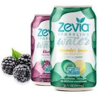 Print a coupon for $2 off one 8-pk. of Zevia Sparking Water