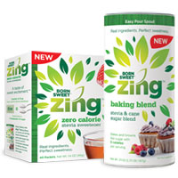 Save $1.50 on Zing Zero Calorie Stevia Sweetener Product