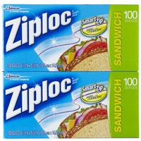 Save $1 when you buy one box of Ziploc Storage Bags and one box of Ziploc Sandwich Bags