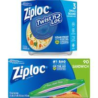 Print a coupon for $1 off two Ziploc Brand products