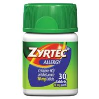 Print a coupon for $4 off one adult Zyrtec product
