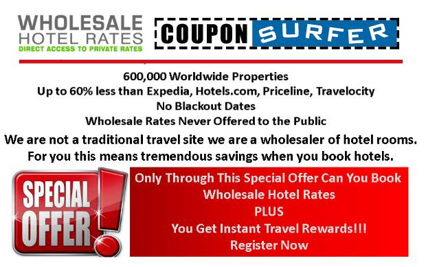 Whole Sale Hotel Discounts