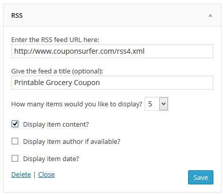 Adding Coupons to WordPress